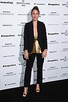 LONDON, UK. October 16, 2019: Johanna Konta arriving for the Esquire Townhouse 2019 launch party, London.<br /> Picture: Steve Vas/Featureflash