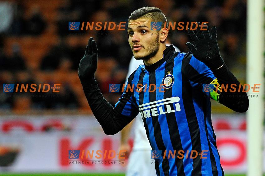 Mauro Icardi Inter<br /> Milano 03-02-2016 Stadio Giuseppe Meazza - Football Calcio Serie A Inter - Chievo Verona. Foto Giuseppe Celeste / Insidefoto
