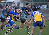 Action from the 2019 Horowhenua-Kapiti senior reserve Bill Muir Cup club rugby final between Paraparaumu and Levin College Old Boys at Levin Domain in Levin, New Zealand on Saturday, 20 July 2019. Photo: Dave Lintott / lintottphoto.co.nz
