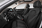 Front seat view of 2017 BMW 5-Series Sport 4 Door Sedan Front Seat  car photos