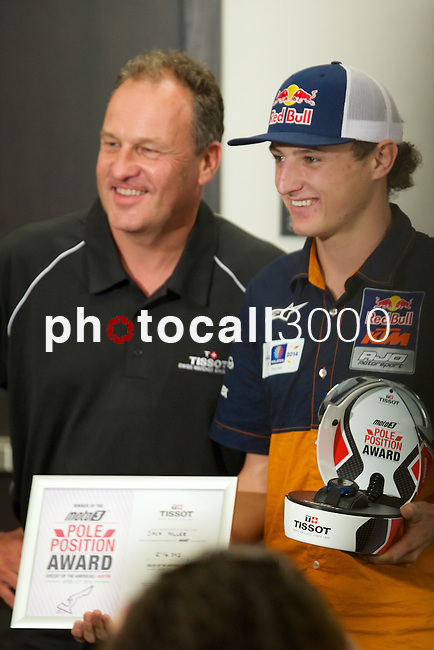 austin. tejas. USA. motociclismo<br /> GP in the circuit of the americas during the championship 2014<br /> 12-04-14<br /> En la imagen :<br /> Press conference<br /> jack miller<br /> photocall3000 / rme