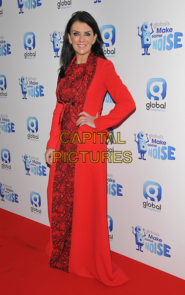Dr Dawn Harper attends the Global Radio's Make Some Noise Night Gala, Supernova, Embankment Gardens, London, England, UK, on Tuesday 24 November 2015. <br /> CAP/CAN<br /> &copy;CAN/Capital Pictures