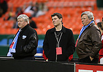 14 April 2007: New Kansas City owners Clifford W. Illig (l) and Pat Curran (r) with guest.  DC United played the Kansas City Wizards at RFK Stadium in Washington, DC in their Major League Soccer 2007 regular season home opener.
