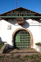 Old wine cellar in Noszvaj, Eger Hungary