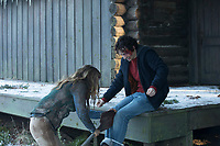 Bad Samaritan (2018)  <br /> Jacqueline Byers &amp; Robert Sheehan<br /> *Filmstill - Editorial Use Only*<br /> CAP/MFS<br /> Image supplied by Capital Pictures
