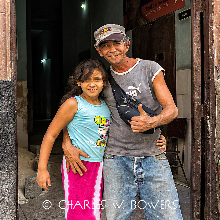 Faces Of Cuba - Thumbs up for my daughter. She's fantastic.<br />