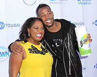 NEW YORK CITY, NY, USA - SEPTEMBER 23: Sherri Shepherd, Marlon Wayans arrive at the NYTough Comedy Showcase held at Caroline's On Broadway on September 23, 2014 in New York City, New York, United States. (Photo by Jeffery Duran/Celebrity Monitor)