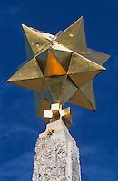 Europe/France/Aquitaine/33/Gironde/Pauillac: Diamant à l'entrée du château Mouton-Rothschild (AOC Pauillac)