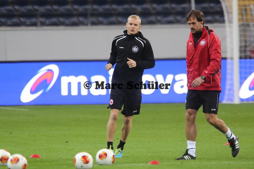 Sebastian Rode (Eintracht) - Training zur Begegnung der Europa League Eintracht Frankfurt vs. Girondins Bordeaux
