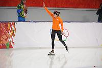 OLYMPICS: SOCHI: Adler Arena, 09-02-2014, 3000 m Ladies, Ireen Wüst (NED), ©foto Martin de Jong