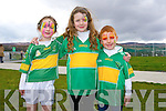 Isabel Locke Clifford, Dawn McLarnon and Joey Byrnes enjoying the John Mitchel's GAA Club Fun Day on Saturday