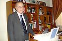 Iraq 2007.Erbil: Portrait of Nouri Talabani at home.Former member of parliament, president of the Kurdish Academy.Irak 2007.Portrait de Nouri Talabani chez lui a Erbil. Ancien membre du parlement kurde, president de l'Academie kurde