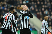 A dejected Jonjo Shelvey of Newcastle United during Newcastle United vs Swansea City, Premier League Football at St. James' Park on 13th January 2018