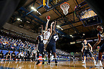 BROOKINGS, SD - FEBRUARY 4:  Mike Daum #24 from South Dakota State University shoots over Aaron Young #0 and Albert Owens #44 from Oral Roberts during their game Saturday afternoon at Frost Arena in Brookings.(Photo by Dave Eggen/Inertia)