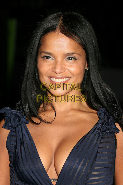 VICTORIA ROWELL.Paramount - DreamWorks Official Golden Globes After Party at The Beverly Hilton Hotel, Beverly Hills, California, USA..January 15t, 2007.headshot portrait cleavage.CAP/ADM/BP.©Byron Purvis/AdMedia/Capital Pictures