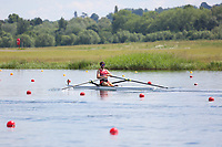 Race: 53  Event: Single Sculls - Championship - Heat 2<br /> <br /> National Schools Regatta 2018<br /> Sunday<br /> <br /> To purchase this photo, or to see pricing information for Prints and Downloads, click the blue 'Add to Cart' button at the top-right of the page. The Metropolitan Regatta 2018