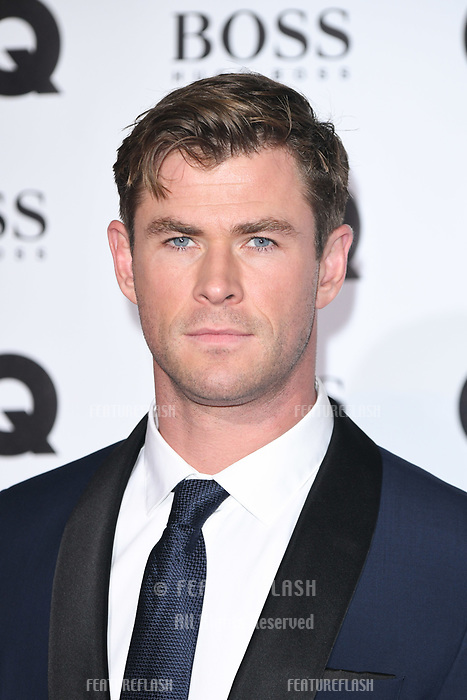 LONDON, UK. September 05, 2018: Chris Hemsworth at the GQ Men of the Year Awards 2018 at the Tate Modern, London