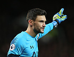 Hugo Lloris of Tottenham during the English Premier League match at Old Trafford Stadium, Manchester. Picture date: December 11th, 2016. Pic Simon Bellis/Sportimage