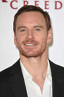 "Michael Fassbender<br /> at the ""Assassin's Creed"" photocall in Claridges Hotel London.<br /> <br /> <br /> ©Ash Knotek  D3211  08/12/2016"