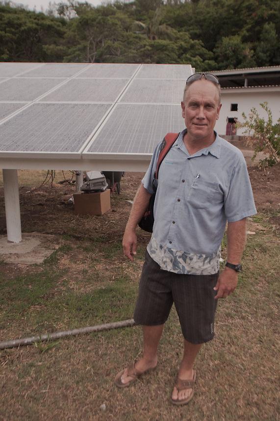 Bruce Clay of Clay Energy, Turtle Island, Yasawa Islands, Fiji