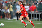 27 August 2011: Western New York's Alex Morgan. Western New York Flash defeated the Philadelphia Independence 5-4 on penalty kicks to win the final after the game ended in a 1-1 tie after overtime at Sahlen's Stadium in Rochester, New York in the Women's Professional Soccer championship game.