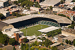 Aerial of the Jeld-Wen Field in Portland, OR.