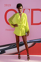 NEW YORK, NY - JUNE 3: Maria Borges at the 2019 CFDA Fashion Awards at the Brooklyn Museum of Art on June 3, 2019 in New York City. <br /> CAP/MPI/DC<br /> ©DC/MPI/Capital Pictures