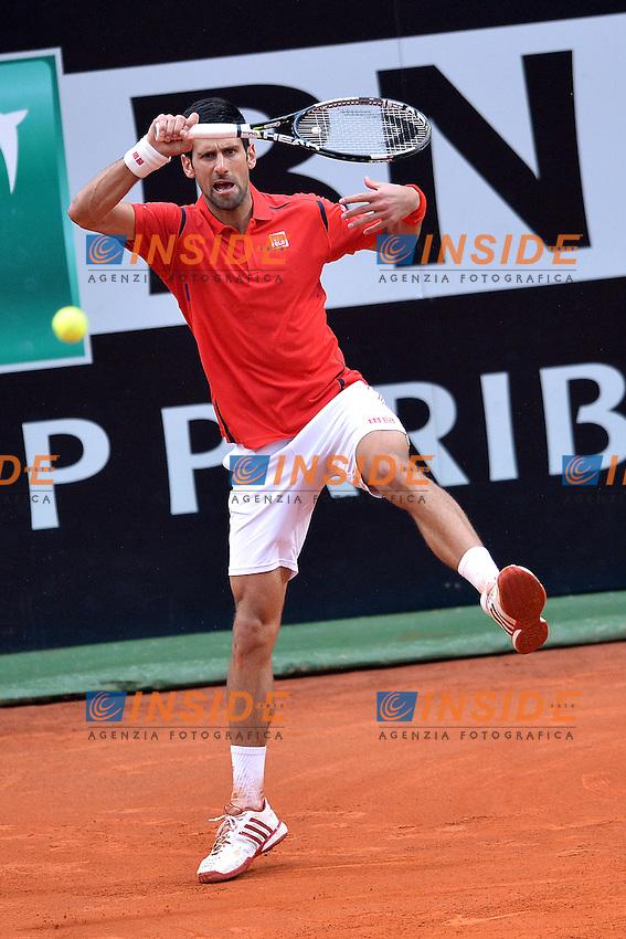 Novak Djokovic<br /> Roma 15-05-2016  Foro Italico<br /> Internazionali BNL d'Italia, Men Final, <br /> Tennis WTA<br /> Foto Antonietta Baldassarre / Insidefoto