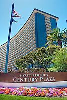 Hyatt Regency, Century Plaza, Century City, CA, Architecture, Buildings, Skyscrapers