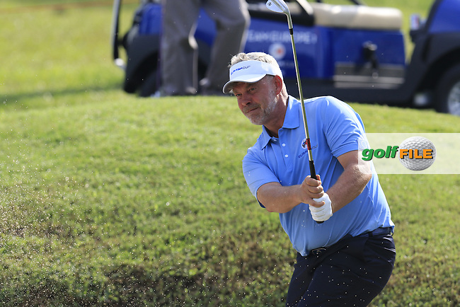 European Team Captain Darren Clarke (NIR) playing during Pro-Am Day of the 2016 Eurasia Cup held at the Glenmarie Golf &amp; Country Club, Kuala Lumpur, Malaysia. 14th January 2016.<br /> Picture: Eoin Clarke | Golffile<br /> <br /> <br /> <br /> All photos usage must carry mandatory copyright credit (&copy; Golffile | Eoin Clarke)