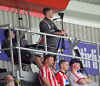 Lincoln City's assistant sports scientist Harry Rossington<br /> <br /> Photographer Chris Vaughan/CameraSport<br /> <br /> Football Pre-Season Friendly - Lincoln City v Sheffield Wednesday - Saturday July 13th 2019 - Sincil Bank - Lincoln<br /> <br /> World Copyright © 2019 CameraSport. All rights reserved. 43 Linden Ave. Countesthorpe. Leicester. England. LE8 5PG - Tel: +44 (0) 116 277 4147 - admin@camerasport.com - www.camerasport.com