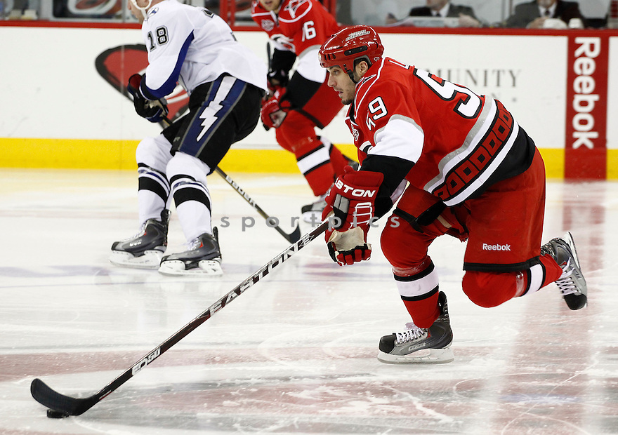 CHAD LAROSE, of the Carolina Hurricanes.