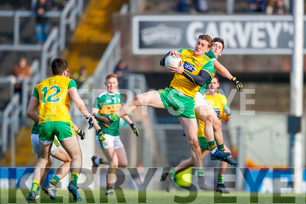 Paul Murphy Kerry in action against Hugh McFadden Donegal in the Allianz Football League Division 1 Round 1 match between Kerry and Donegal at Fitzgerald Stadium in Killarney, Co. Kerry.