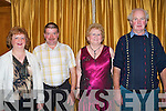COUNTRY FUN: Having great fun at the new CD launch of Eddie Lee and John Reidy in the Ballygarry House Hotel & Spa on Saturday l-r: Phyllis and Michael Healy, Lauragh, Babeal Lynch and Micheal Shannhan, 6 Crosses.   Copyright Kerry's Eye 2008