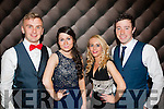 All Glam<br /> -----------<br /> Enjoying the Tralee IT Sports and societies annual Ball in the Ballyroe hts Hotel last Thursday were L-R Eoighan Keniry,irene O'Sullivan,Sinead Dunbar and Cillian Cromwell