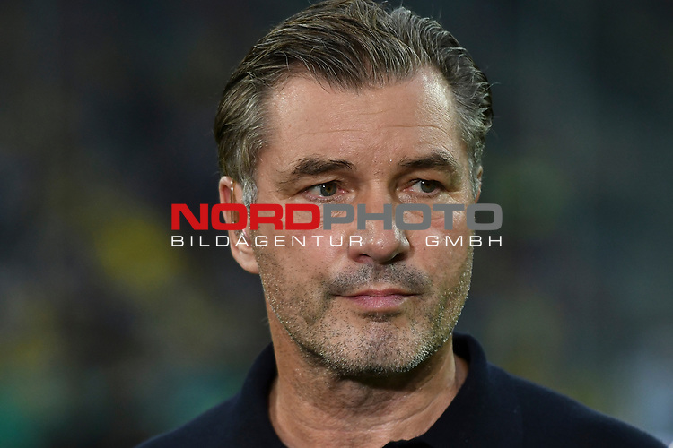 09.08.2019, Merkur Spiel-Arena, Duesseldorf, GER, DFB-Pokal, KFC Uerdingen 05 vs Borussia Dortmund , DFL regulations prohibit any use of photographs as image sequences and/or quasi-video<br /> <br /> im Bild Michael Zorc (Borussia Dortmund) Portrait, halbportrait, Bild, einzel, Einzelaufnahme, picture, single, solo, alleine <br /> <br /> Foto © nordphoto/Mauelshagen