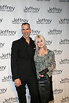 Jerry Mitchell and Cyndi Lauper Attend Jeffrey Fashion Cares 10th Anniversary New York Fundrasier Hosted by Emmy Rossum Held at the Intrepid, NY 4/2/13