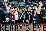 John Egan, Nicholas O?Sullivan, Daniel Collins, Kevin Shanahan and Niall Clifford Ardfert players celebrate after winning the Intermediate All Ireland Club Final in Croke Park on Saturday.