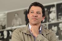 SAO PAULO, 31 DE AGOSTO DE 2012 - ELEICOES 2012 HADDAD - Candidato Fernando Haddadd comparece a Tv Gazeta para gravacao de programa de televisao, na tarde desta sexta feira, regiao central da capital. FOTO: ALEXANDRE MOREIRA - BRAZIL PHOTO PRESS