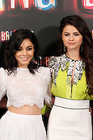 Selena Gomez and Vanessa Hudgens attends 'Spring Breakers' photocall at Villamagna Hotel in Madrid. February 21, 2013. (ALTERPHOTOS/Caro Marin) /NortePhoto
