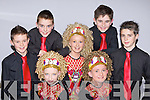 Competing in the Oireachtas Rince na hE?ireann in the INEC on Tuesday was front row l-r: Aine Kerrisk Firies, Roisin O'Heara Killorglin. Back row: Jack Hanrahan Killarney, Christopher Carey Killarney, Shannon Foley Killorglin, Cieran Quigley Killarney and Conor Scanlon Milltown