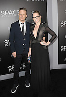 www.acepixs.com<br /> <br /> January 17 2017, LA<br /> <br /> Ingrid Michaelson and Will Chase arriving at the premiere 'The Space Between Us' at the ArcLight Hollywood on January 17, 2017 in Hollywood, California. <br /> <br /> By Line: Peter West/ACE Pictures<br /> <br /> <br /> ACE Pictures Inc<br /> Tel: 6467670430<br /> Email: info@acepixs.com<br /> www.acepixs.com