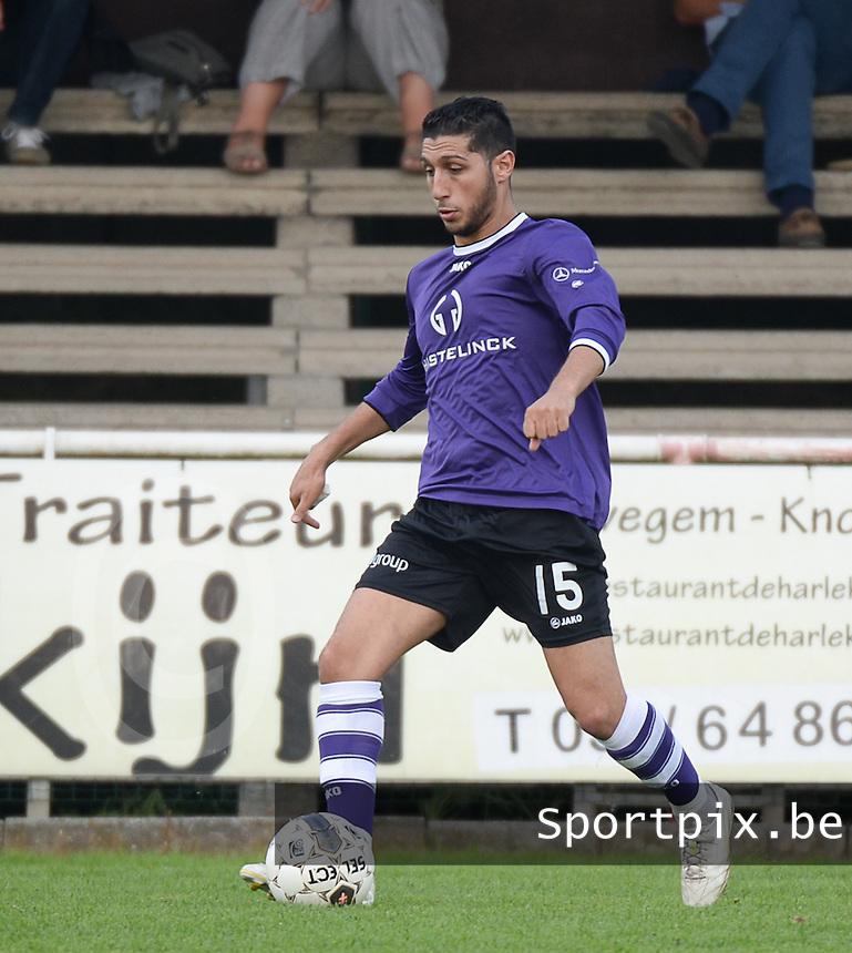 FC Helkijn : Monssef Znagui <br /> foto VDB / BART VANDENBROUCKE