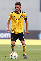 Siebe Schrijvers of Belgium  in action<br /> Reggio Emilia 16-06-2019 Stadio Città del Tricolore <br /> Football UEFA Under 21 Championship Italy 2019<br /> Group Stage - Final Tournament Group A<br /> Poland - Belgium<br /> Photo Cesare Purini / Insidefoto