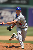 May 14 2009: Nick Walters of the Stockton Ports during game against the Inland Empire 66'ers at Arrowhead Credit Union Park in San Bernardino,CA.  Photo by Larry Goren/Four Seam Images