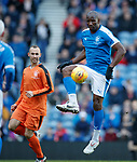 24.3.2018: Rangers legends match:<br /> Marvin Andrews and Thomas Buffel
