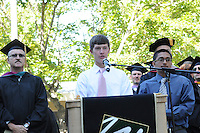 The Harker School - US - Upper School - Harker's incoming class of 2016 is welcomed to the Saratoga Campus by the rest of the Upper School in the Matriculation Ceremony.?Photo by Kyle Cavallaro