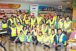 Killorglin people who have gathered in Champs Eurospar to go walking every Tuesday and Thursday evening inspired by the Operation Transformation television programme