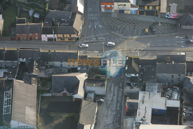 Aerial of Drogheda Fairgreen area.Photo: Fran Caffrey/ Newsfile.