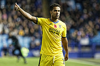 Wayne Routledge of Swansea City in action during the Sky Bet Championship match between Sheffield Wednesday and Swansea City at Hillsborough Stadium, Sheffield, England, UK. Saturday 09 November 2019